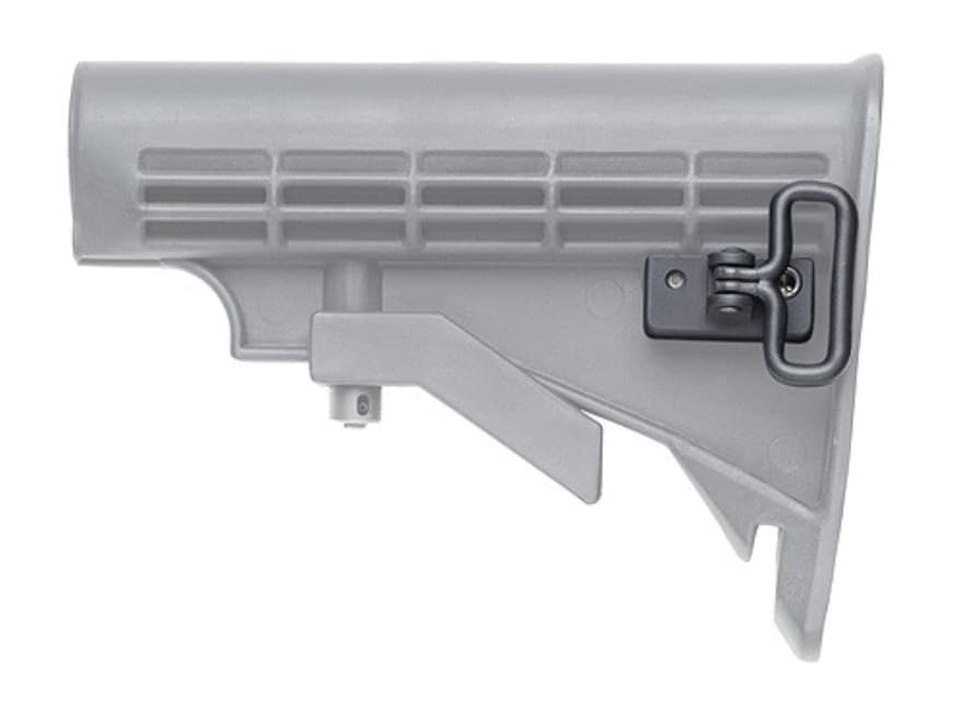 GG&G Sling Thing Standard Swivel Rear fits AR-15 Collapsible Stocks Aluminum Matte