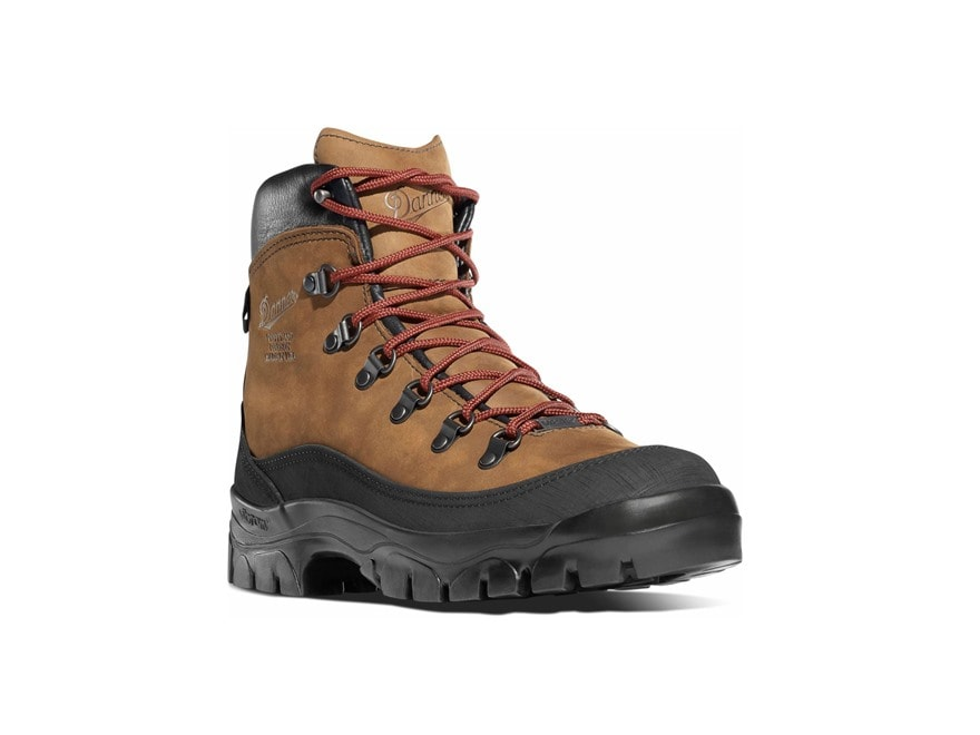 "Danner Crater Rim 6"" Waterproof GORE-TEX Hiking Boots Leather and Nylon Brown Men's"