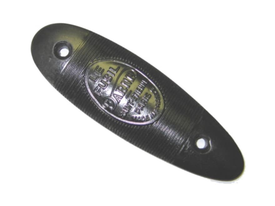 Vintage Gun Buttplate Dame Polymer Black