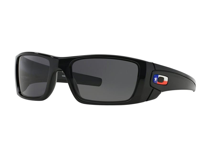 Oakley Fuel Cell Texas Flag Edition Sunglasses Black Frame/Black Lens