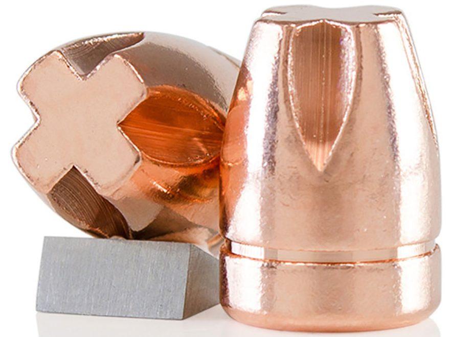 Lehigh Defense Xtreme Penetrator Bullets 380 ACP (355 Diameter) 90 Grain Solid Copper F...
