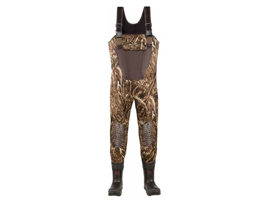 LaCrosse Mallard II 3.5mm 1000 Gram Insulated Neoprene Chest Waders Realtree Max-5 Camo