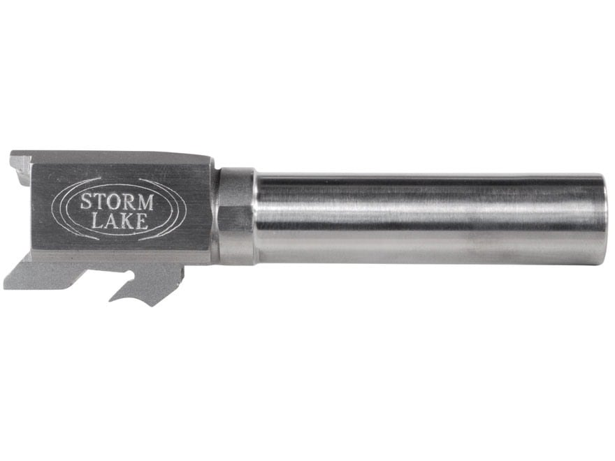 """Storm Lake Barrel S&W M&P Compact 357 Sig 1 in 16"""" Twist 3.58"""" Stainless Steel"""