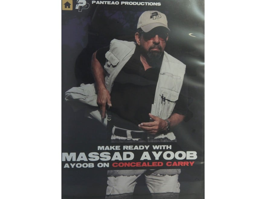 """Panteao """"Make Ready with Massad Ayoob: Ayoob on Concealed Carry"""" DVD"""