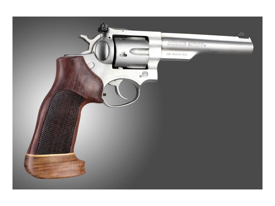 Hogue Fancy Hardwood Grips with Accent Stripe Ruger GP100, Super Redhawk Oversize Check...