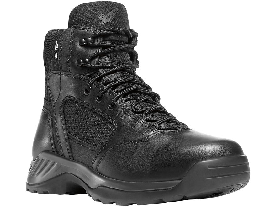 "Danner Kinetic 6"" Side-Zip Waterproof GORE-TEX Tactical Boots Leather Men's"