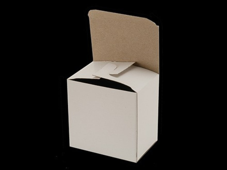 "BPI ""Factory Style"" Shotshell Box 16 Gauge 2-3/4"" 25-Round White Pack of 10"