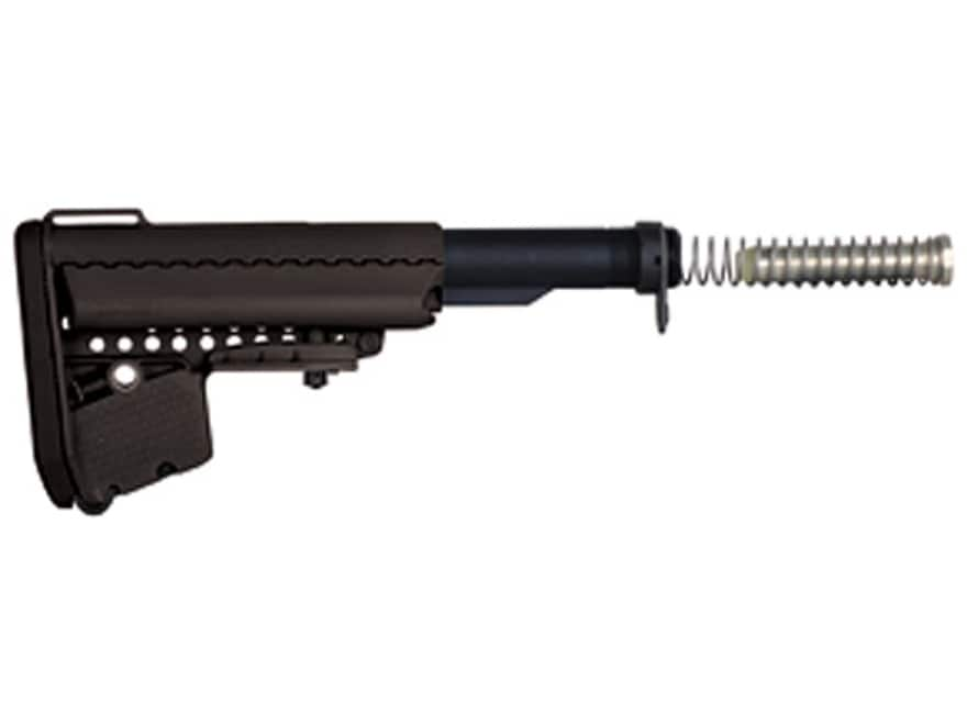 Vltor EMOD A5 Stock Assembly 7-Position Mil-Spec Diameter Collapsible AR-15 Carbine Syn...