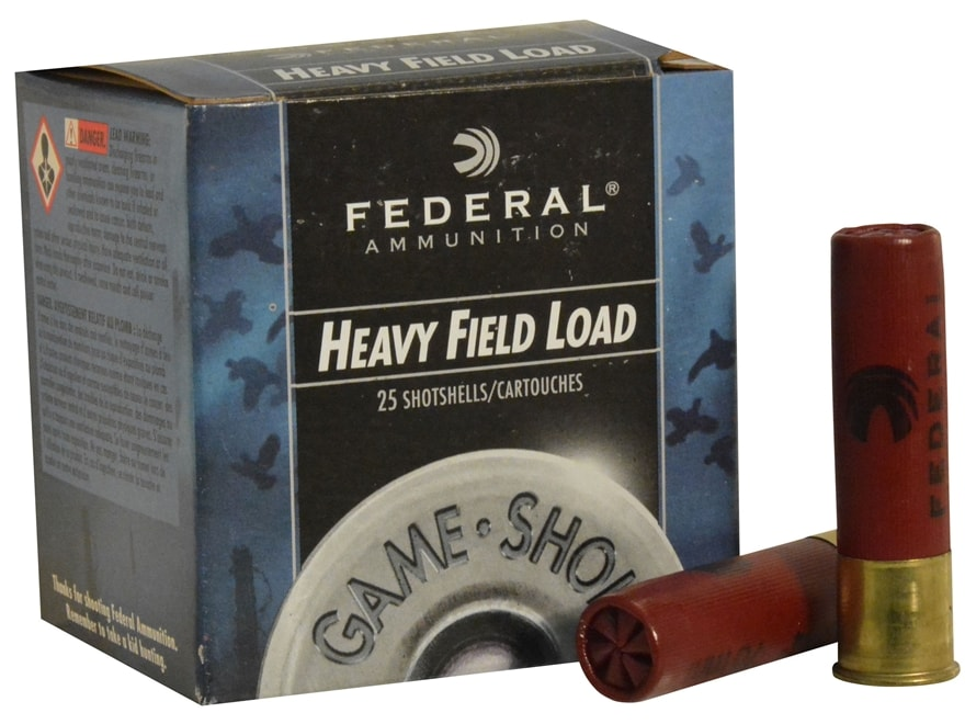 """Federal Game-Shok Heavy Field Load Ammunition 28 Gauge 2-3/4"""" 1 oz #6 Shot"""