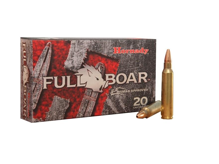 Hornady Full Boar Ammunition 223 Remington 50 Grain GMX Hollow Point Lead-Free Box of 20