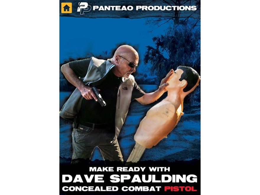"""Panteao """"Make Ready with Dave Spaulding: Concealed Combat Pistol"""" DVD"""