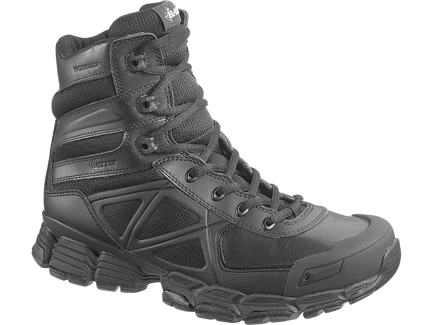 "Bates Velocitor 8"" Waterproof Side-Zip Tactical Boots Leather/Nylon Men's"