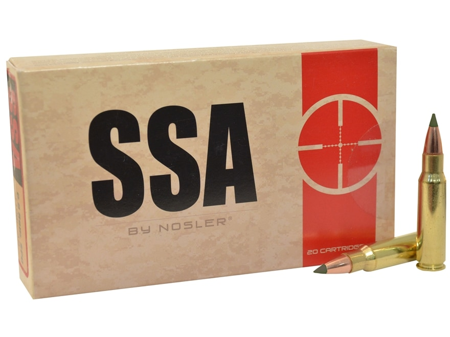 Silver State Armory Ammunition 6.8mm Remington SPC 85 Grain Nosler E-Tip Box of 20