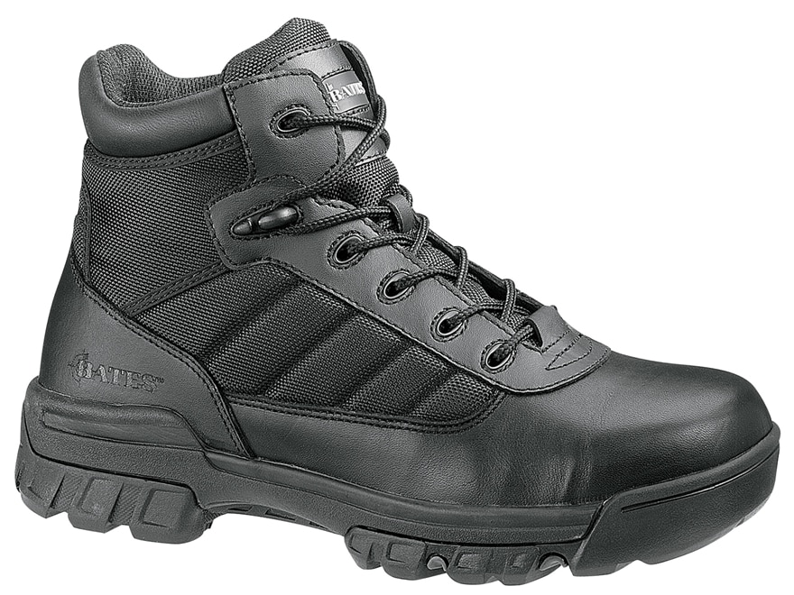 """Bates Tactical Sport 5"""" Composite Safety Toe Side-Zip Tactical Boots Leather/Nylon Men's"""