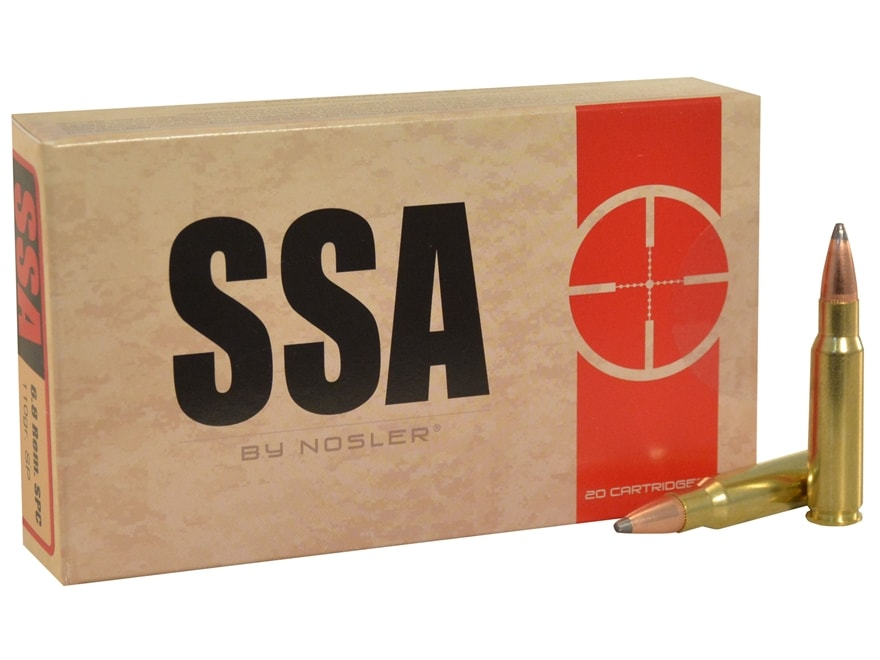 Silver State Armory Ammunition 6.8mm Remington SPC 110 Grain Soft Point Box of 20