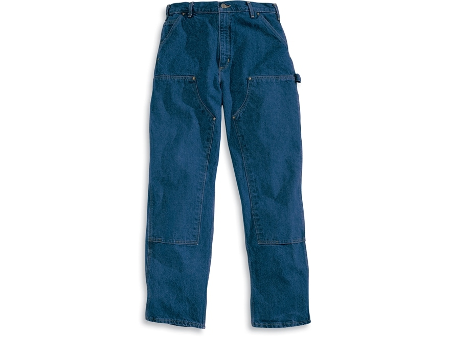 Carhartt Men's Loose Original Fit Double Front Washed Logger Jeans Cotton