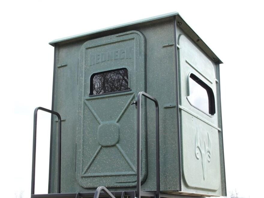 Redneck Blinds Trophy Tower Platinum Box Blind