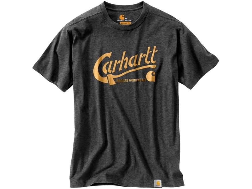 Carhartt Men's Maddock Graphic Carhartt Axe T-Shirt Short Sleeve Cotton/Poly