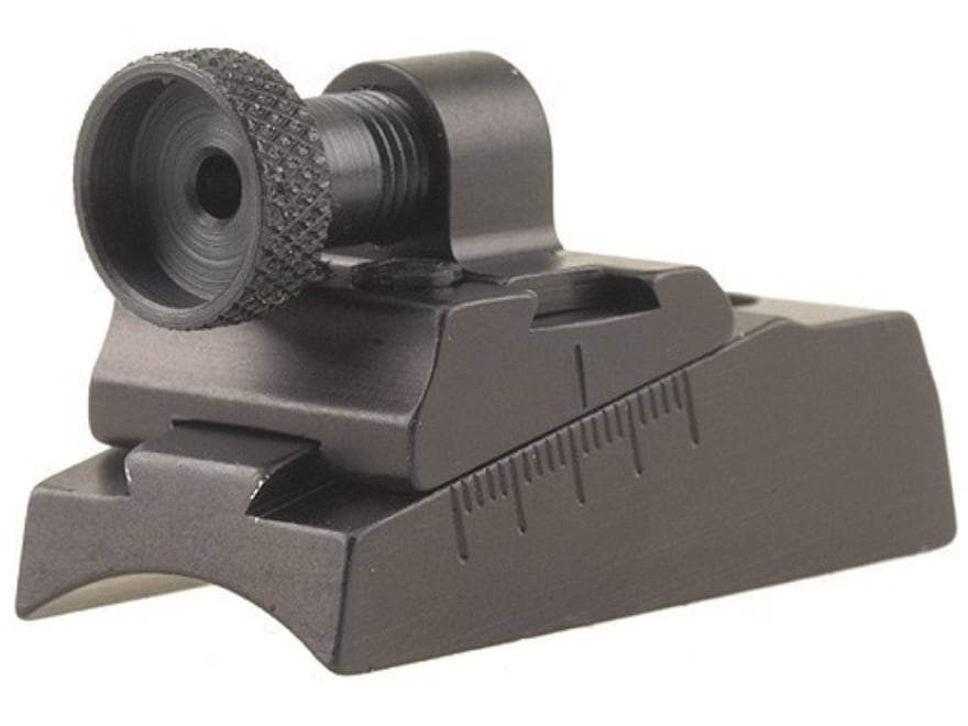 Williams WGRS-Disc/T-Bolt Guide Receiver Peep Sight Knight Disc and T-Bolt Aluminum Black