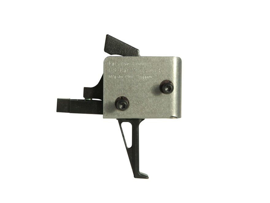 """CMC Triggers Tactical Drop-In Trigger Group AR-15 Small Pin .154"""" Single Stage Matte"""