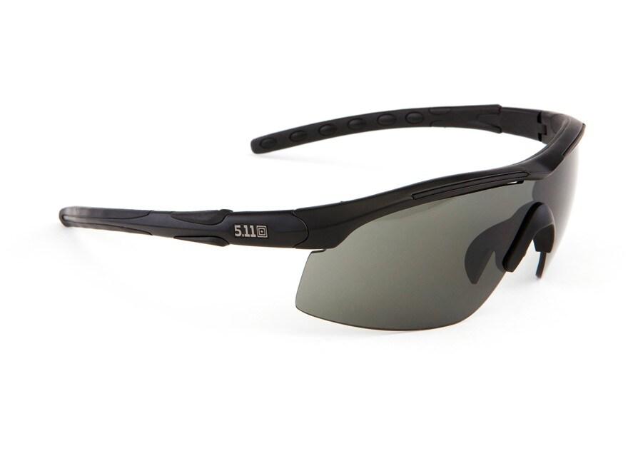 5.11 Raid Sunglasses Smoke, Clear and Ballistic Lenses