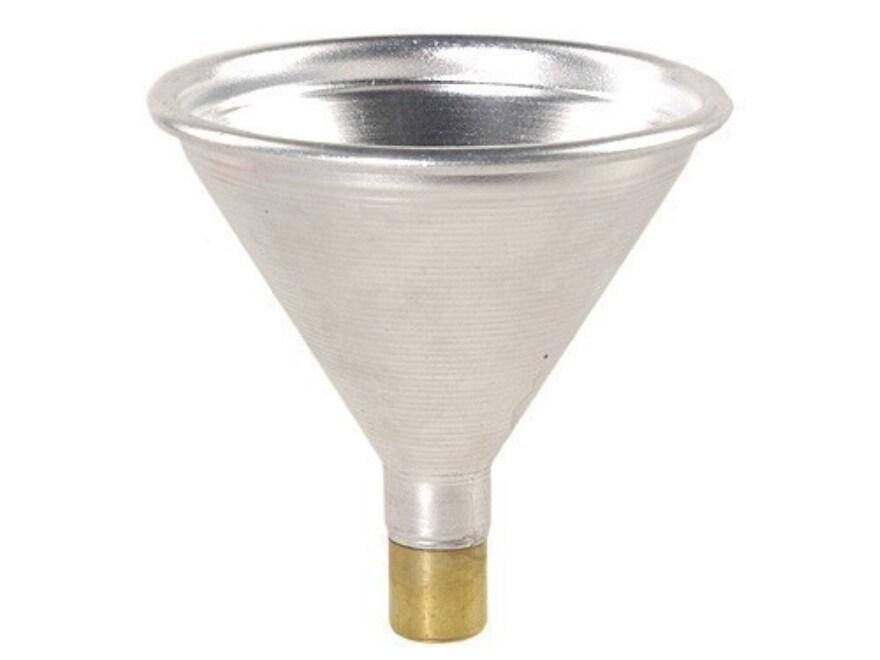 Satern Powder Funnel 25 Caliber Aluminum and Brass