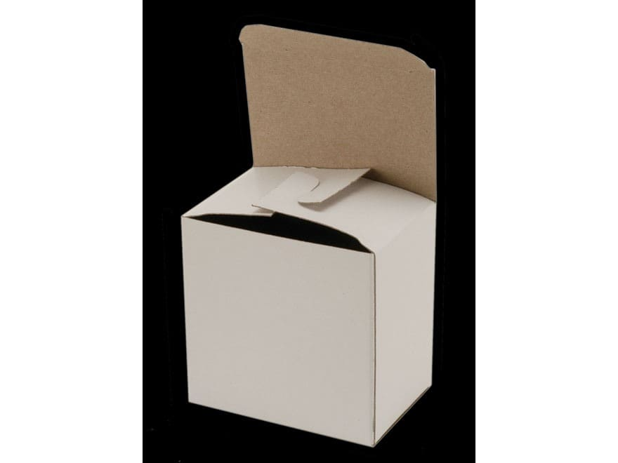 """BPI """"Factory Style"""" Shotshell Box 410 Bore 2-1/2"""" 25-Round White Package of 10"""