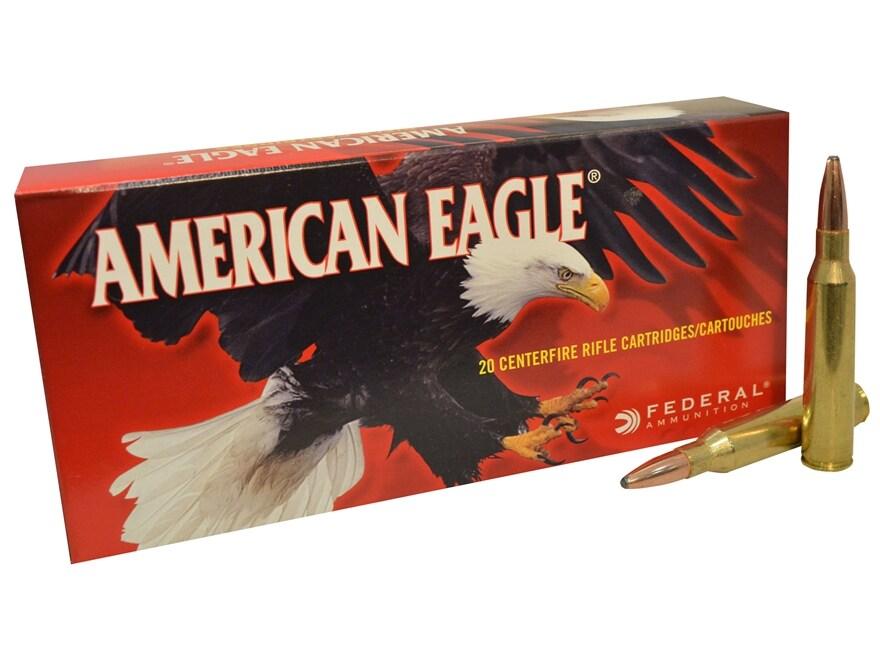 Federal American Eagle Ammunition 338 Lapua Magnum 250 Grain Pointed Soft Point