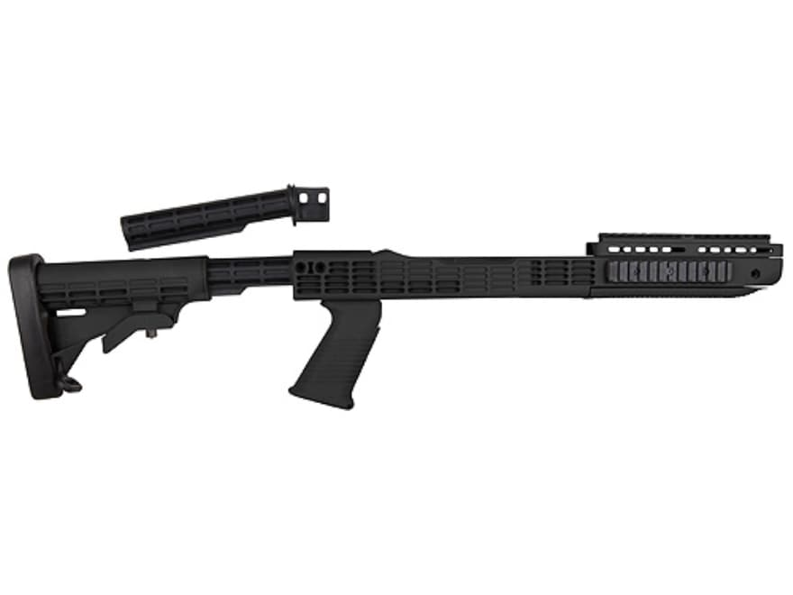"""TAPCO Intrafuse T6 Rifle Stock 6-Position Collapsible Ruger 10/22 .920"""" Barrel Channel ..."""