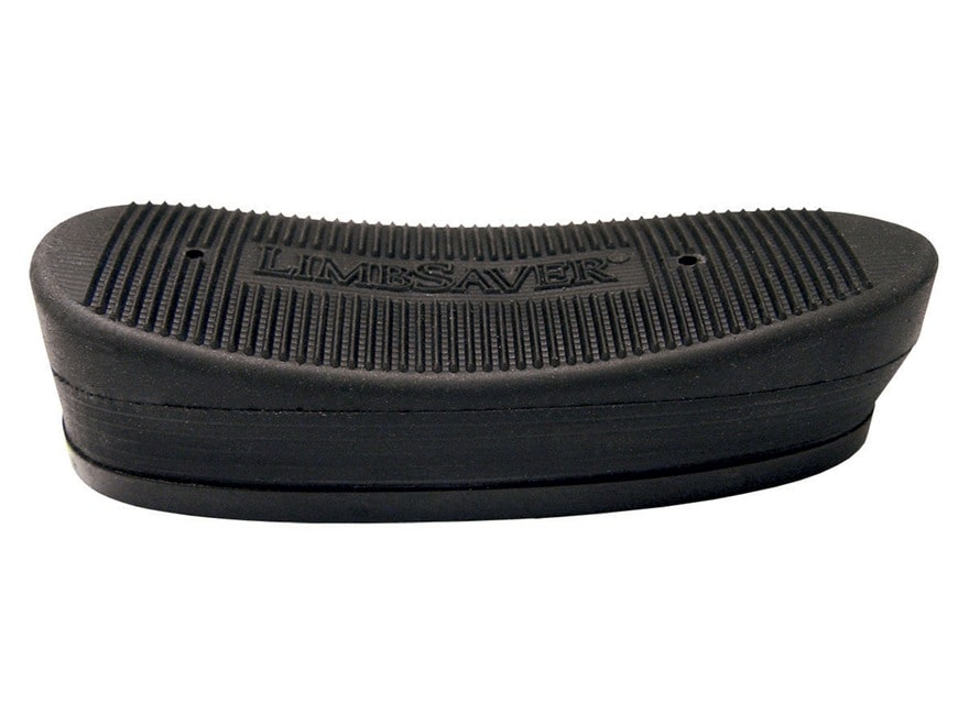 """Limbsaver Recoil Pad Trap Grind to Fit 1"""" Thick Rubber Black"""