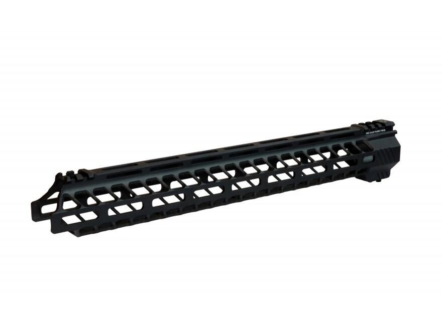Samson SXS Lightweight Series M-Lok Free Float Handguard AR-15 Aluminum Matte