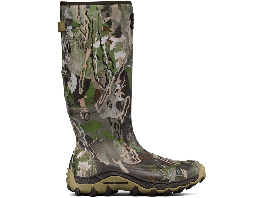 """Under Armour UA Mud Hawg 16"""" Waterproof 600 Gram Insulated Hunting Boots Rubber Men's"""