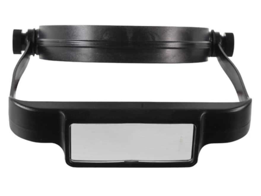 Donegan Optical OptiSIGHT Magnifying Headband Visor with 3 Lens Plates, Black