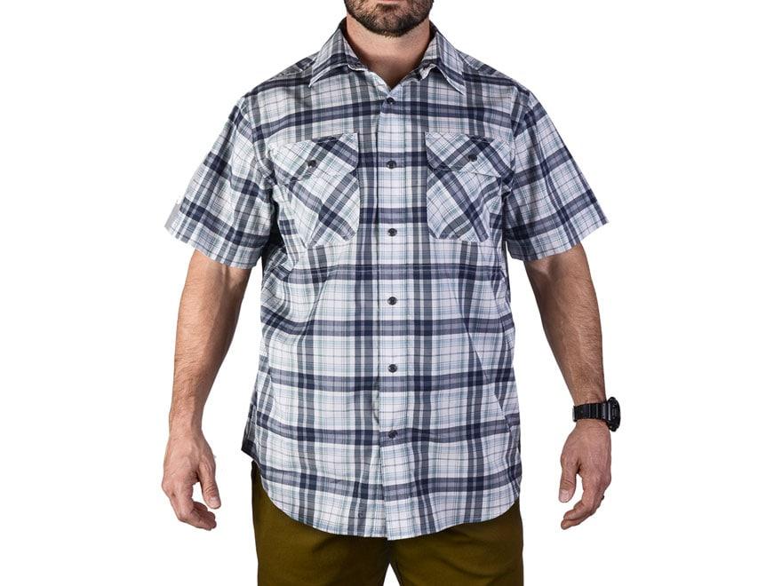 Vertx Men's Guardian Button-Up Shirt Short Sleeve 37.5 Polyester