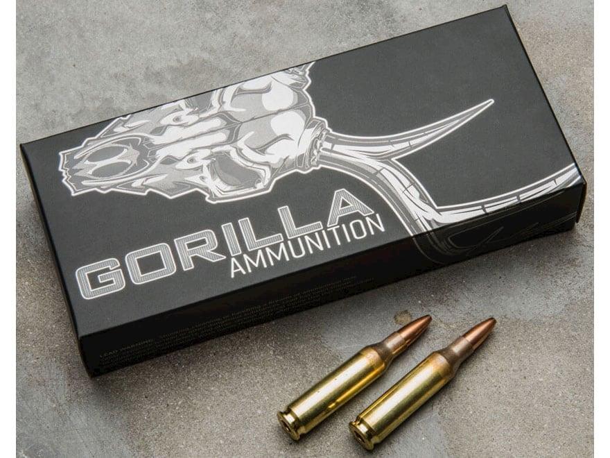 Gorilla Hunt Ammunition 260 Remington 100 Grain Sierra Varminter Hollow Point Box of 20