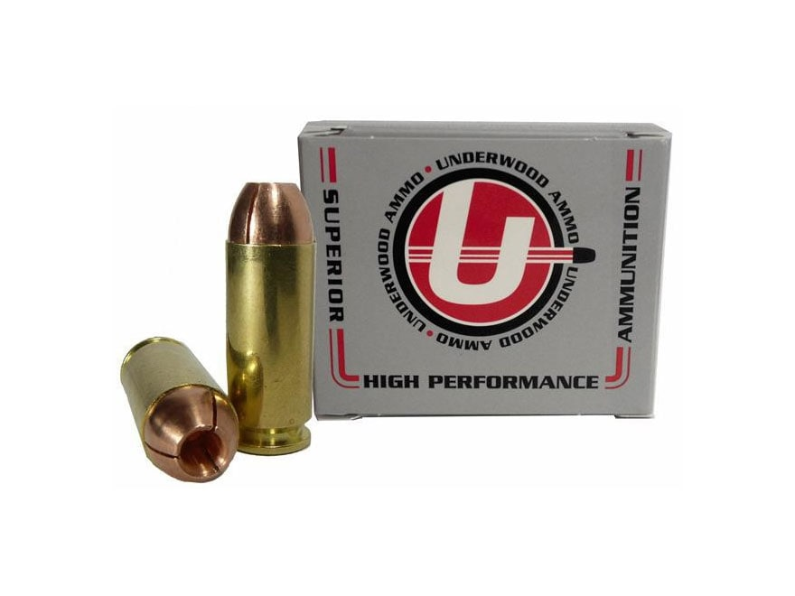 Underwood Ammunition 10mm Auto 140 Grain Lehigh Controlled Fracturing Hollow Point Lead...