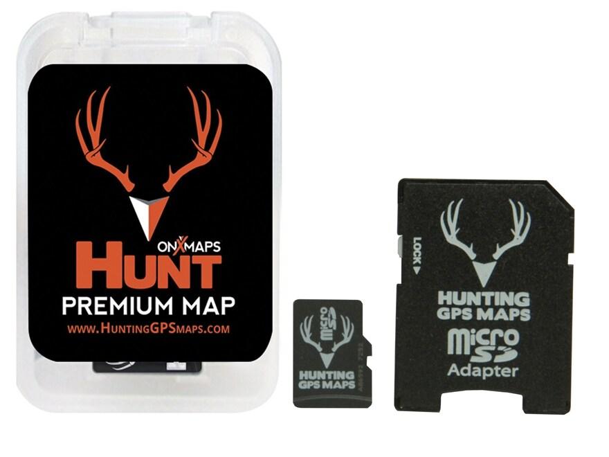 onXmaps Hunt Premium PLAT Topo Map
