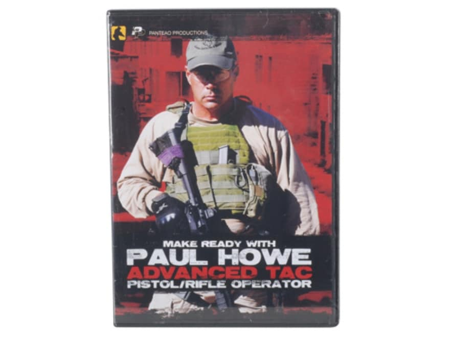 "Panteao ""Make Ready with Paul Howe: Advanced Tac Pistol/Rifle Operator"" DVD"