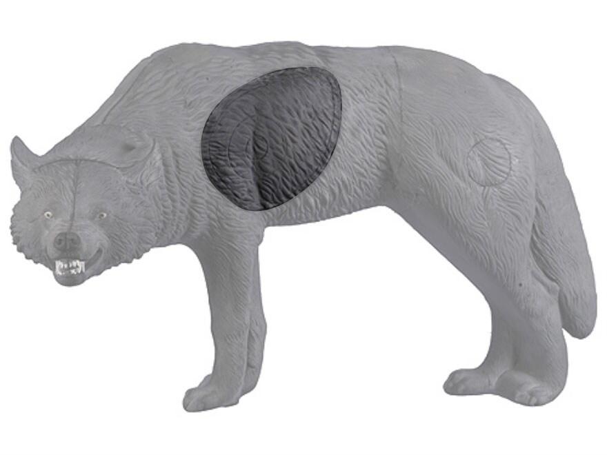 Rinehart Snarling Gray Wolf 3-D Foam Archery Target Replacement Insert