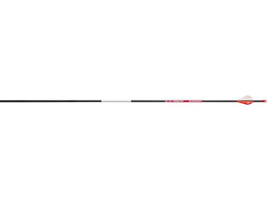 "Bloodsport Prosecutor Carbon Arrow 2"" Vanes Black Pack of 6"