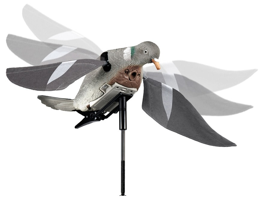 Lucky Duck Rapid Flyer Motion Pigeon Decoy