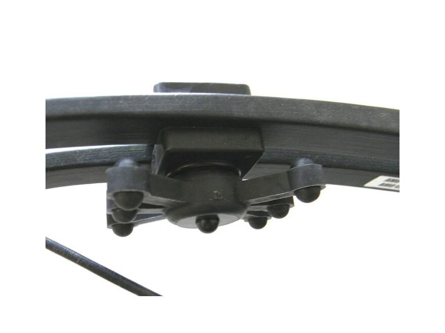 "Bowjax Magnum Split Limb Bow Vibration Dampener 15/16"" Rubber Black Pack of 2"