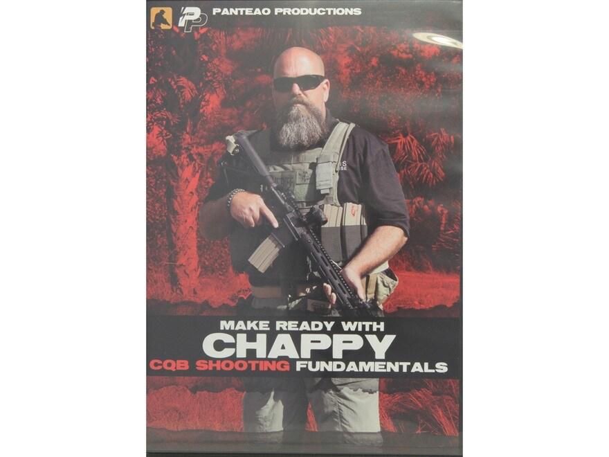 "Panteao ""Make Ready with Chappy: CQB Shooting Fundamentals"" DVD"