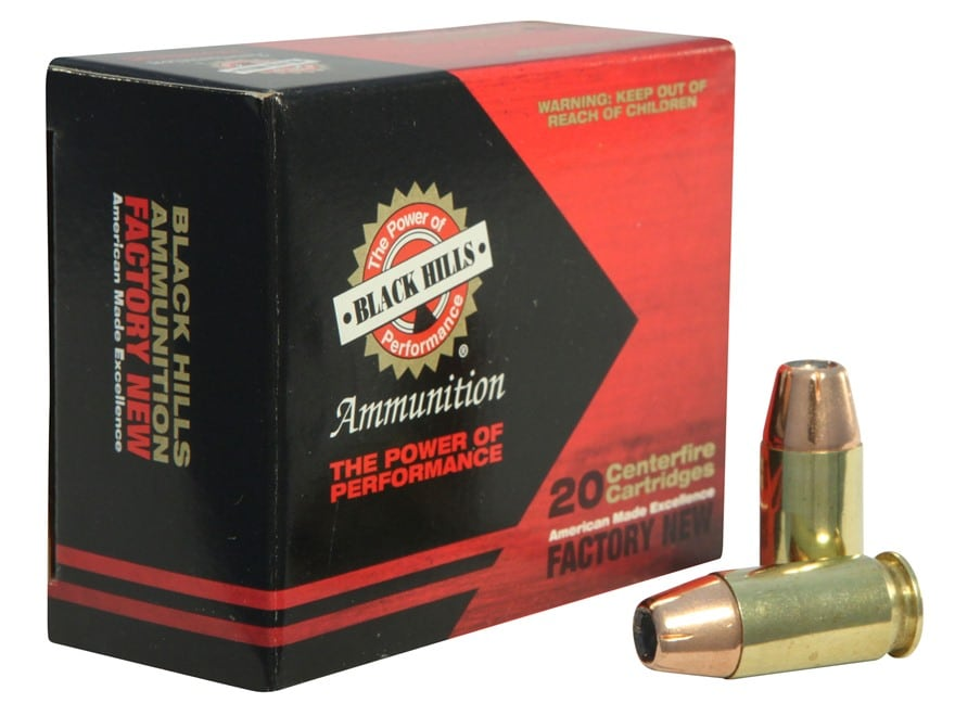 Black Hills Ammunition 45 ACP +P 230 Grain Jacketed Hollow Point Box of 20