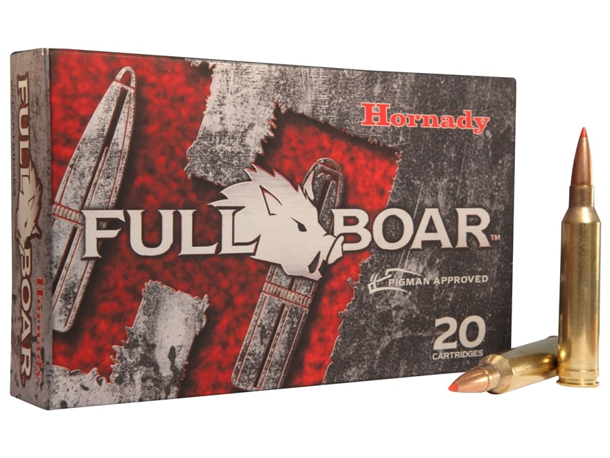 Hornady Full Boar Ammunition 7mm Remington Magnum 139 Grain GMX Boat Tail Lead-Free Box...