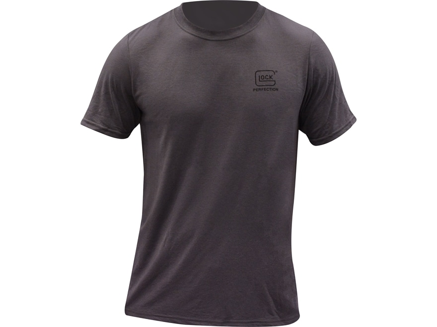 glock men 39 s performance logo t shirt polyester. Black Bedroom Furniture Sets. Home Design Ideas