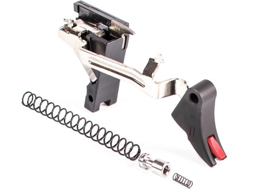 ZEV Technologies PRO Drop-In Trigger Kit Curved Face Glock 17, 19, 26, 34 Gen 1, 2, 3 A...