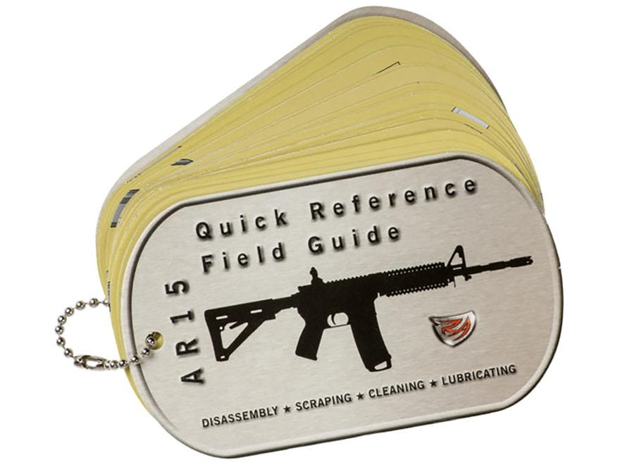 Real Avid AR-15 Field Guide Disassembly and Cleaning Guide