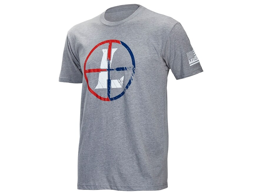 Leupold Men's USA Reticle T-Shirt Short Sleeve Cotton/Poly