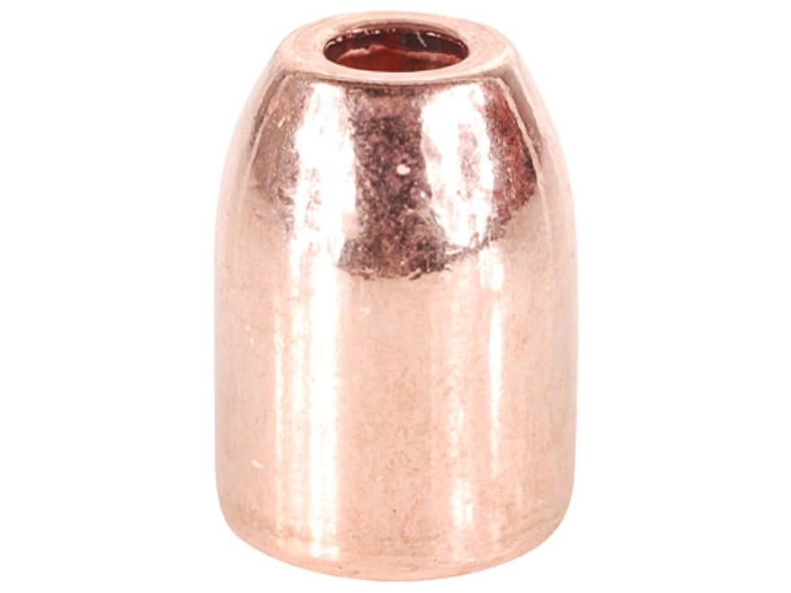 HSM Custom Bullets 40 S&W, 10mm Auto (400 Diameter) 165 Grain Plated Hollow Point Box o...